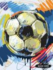 Quad Grid: Soccer Composition Notebook Graph Ruled Paper, 4x4 Squared for Math & Science Graphing Cover Image