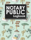 Notary Public Logbook: Notarial Record, Notary Paper Format, Notary Ledger, Notary Record Book, Cute Safari Wild Animals Cover Cover Image