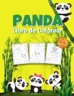 Panda Libro de Colorear para Niños: Maravilloso libro de actividades del panda para niños, chicos y chicas, gran libro de animales para colorear con e Cover Image