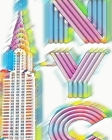 ICONIC Chrysler Building Writing Drawing Journal. Sir Michael Designer Cover Image