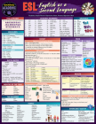 ESL - English as a Second Language: A Quickstudy Laminated Reference Guide Cover Image