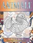 Libri da colorare per adulti - Principiante di rilassamento - Animale Cover Image