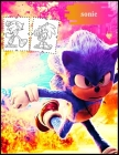 Sonic: Coloring Book for Kids and Adults with Fun, Easy, and Relaxing Cover Image