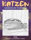 Malbücher für Erwachsene - Blumen und Blätter & Tiere - Tiere - Katzen Cover Image