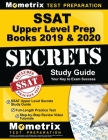 SSAT Upper Level Prep Books 2019 & 2020 - SSAT Upper Level Secrets Study Guide, Full-Length Practice Test, Step-By-Step Review Video Tutorials: (updat Cover Image