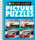Brain Games - Picture Puzzles #4: How Many Differences Can You Find?, 4 Cover Image