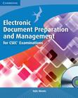 Electronic Document Preparation and Management for Csec(r) Examinations Coursebook [With CDROM] Cover Image