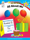 All about Me, Grades Pk - 1: Gold Star Edition (Home Workbooks) Cover Image