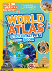 World Atlas Sticker Activity Book Cover Image