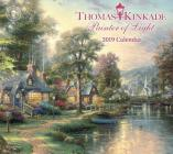 Thomas Kinkade Painter of Light 2019 Deluxe Wall Calendar Cover Image