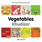 My First Bilingual Book–Vegetables (English–Somali) Cover Image