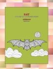 Mandala Coloring Book Stress Relief - Animals - Bat Cover Image