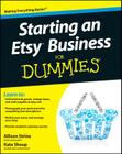 Starting an Etsy Business for Dummies Cover Image