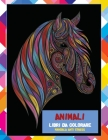 Libri da colorare - Mandala Anti stress - Animali Cover Image