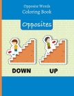 Opposite Words: Coloring Book Cover Image