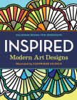 Coloring Books for Grownups: Inspired: Modern Art Designs Cover Image