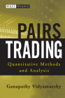 Pairs Trading: Quantitative Methods and Analysis (Wiley Finance #217) Cover Image