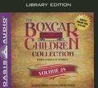 The Boxcar Children Collection Volume 28 (Library Edition): The Summer Camp Mystery, The Copycat Mystery, The Haunted Clock Tower Mystery Cover Image