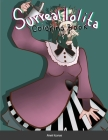 The Surreal lolita Coloring Book Cover Image