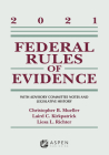 Federal Rules of Evidence: With Advisory Committee Notes and Legislative History: 2021 Statutory Supplement (Supplements) Cover Image