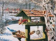 Backyard Banquet 1000-Piece Puzzle Cover Image
