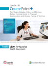 Lippincott CoursePoint+ for Hogan-Quigley, Palm & Bickley: Bates Nursing Guide to Physical Examination and History Taking Cover Image