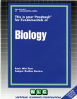 BIOLOGY: Passbooks Study Guide (Fundamental Series) Cover Image