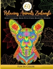 60 Relaxing Animals Zentangle: Adult Coloring Book With Stress Relieving Designs Cover Image