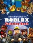 Roblox coloring book: + 30 high quality pages coloring, Prefect Gift for for Boys Girls Kid, Book for everyone Cover Image
