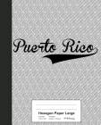 Hexagon Paper Large: PUERTO RICO Notebook Cover Image