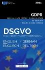 DSGVO Englisch-Deutsch - EU Datenschutz-Grundverordnung (2021): GDPR English-German - EU General Data Protection Regulation (2021) Cover Image