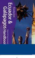 Ecuador & Galapagos Handbook: Travel Guide to Ecuador and the Galapagos Islands Cover Image