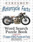 Circle It, Motorcycle Facts, Word Search, Puzzle Book Cover Image