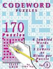 Codeword Puzzles: 170 Puzzles, Volume 3 Cover Image