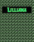 120 Page Handwriting Practice Book with Green Alien Cover Lilliana: Primary Grades Handwriting Book Cover Image