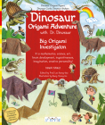 Dinosaur Origami Adventure: Dinosaur Origami Papers, Dinosaur Cards, Dinosaur Stickers Cover Image