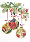 Botanical Ornaments Small Boxed Holiday Cards Cover Image