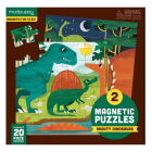 Mighty Dinosaurs Magnetic Puzzle Cover Image