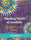 Amazing World of Mandalas Coloring Book for Adults Volume 1: Unique Patterns Anti Anxiety Sacred Symbols Color Therapy Original Designs Mindfulness Cover Image