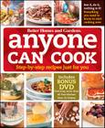 Anyone Can Cook DVD Edition: Step-by-Step Recipes Just for You (Better Homes and Gardens Cooking) Cover Image