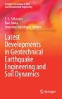 Latest Developments in Geotechnical Earthquake Engineering and Soil Dynamics (Springer Transactions in Civil and Environmental Engineering) Cover Image