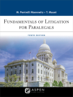 Fundamentals of Litigation for Paralegals (Aspen Paralegal) Cover Image