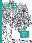 Keep Calm and Color -- Tranquil Trees Coloring Book (Adult Coloring) Cover Image