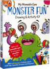 My Moveable Eyes Monster Fun: Drawing & Activity Book Cover Image