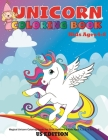 Unicorn coloring book for kids ages 4-8 us edition: Magical Unicorn Coloring Books for Girls, Toddlers & Kids Ages 1, 2, 3, 4, 5, 6, 7, 8 ! Cover Image