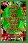 ADHD Diet and Nutritional Guide with Recipes For Adults: A detailed, quick and easy cookbook for adults having Adhd! Cover Image