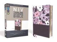 NIV, Thinline Reference Bible, Imitation Leather, Purple, Red Letter Edition, Comfort Print Cover Image