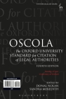 OSCOLA: The Oxford University Standard for Citation of Legal Authorities Cover Image