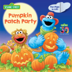 Pumpkin Patch Party (Sesame Street): A Lift-the-Flap Board Book Cover Image