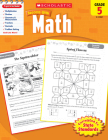 Scholastic Success With Math: Grade 5 Workbook Cover Image